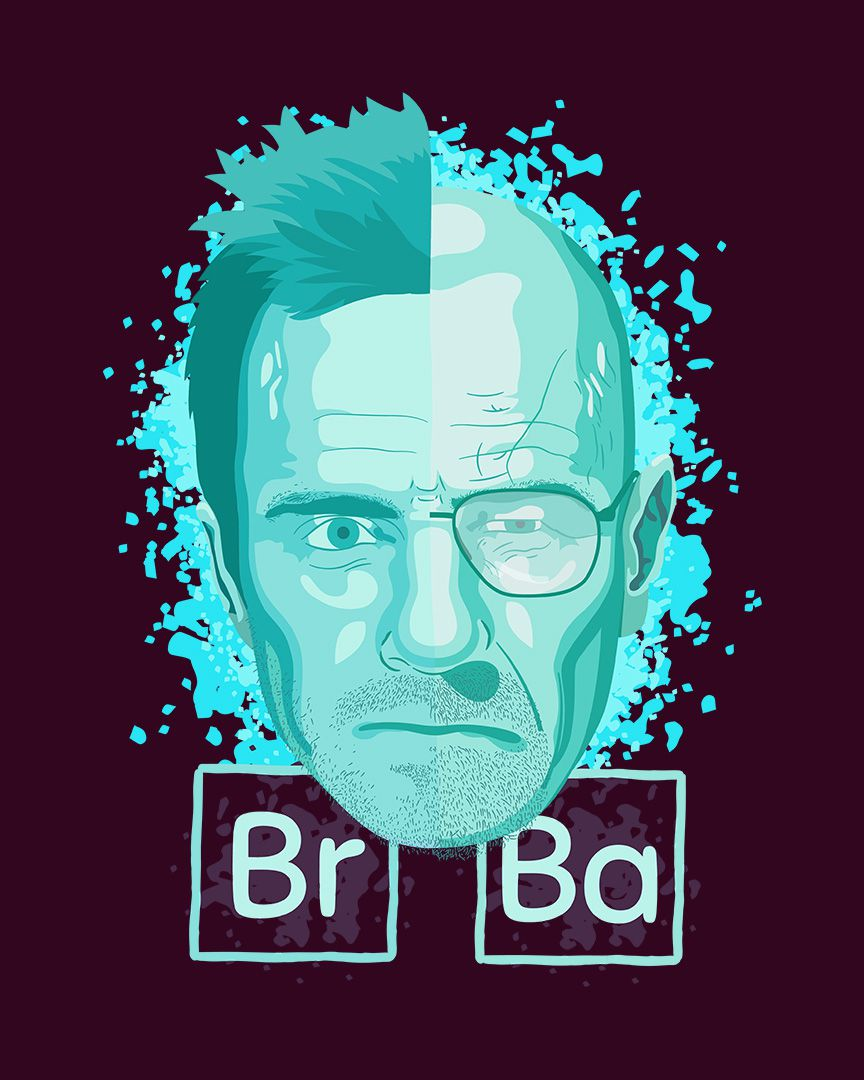 Camiseta Pinkman and White - Breaking Bad