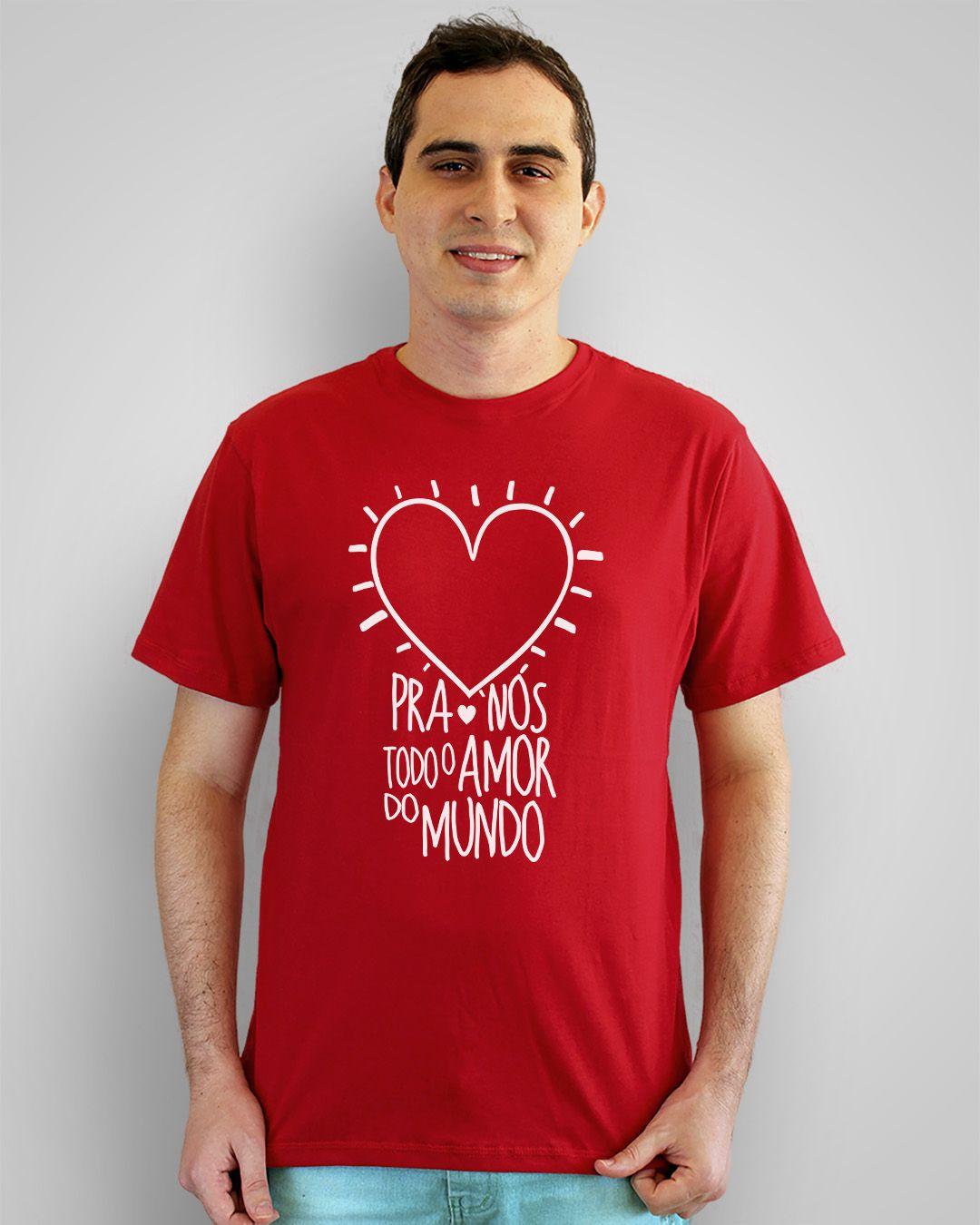 Camiseta Pra nós todo o amor do mundo - Los Hermanos