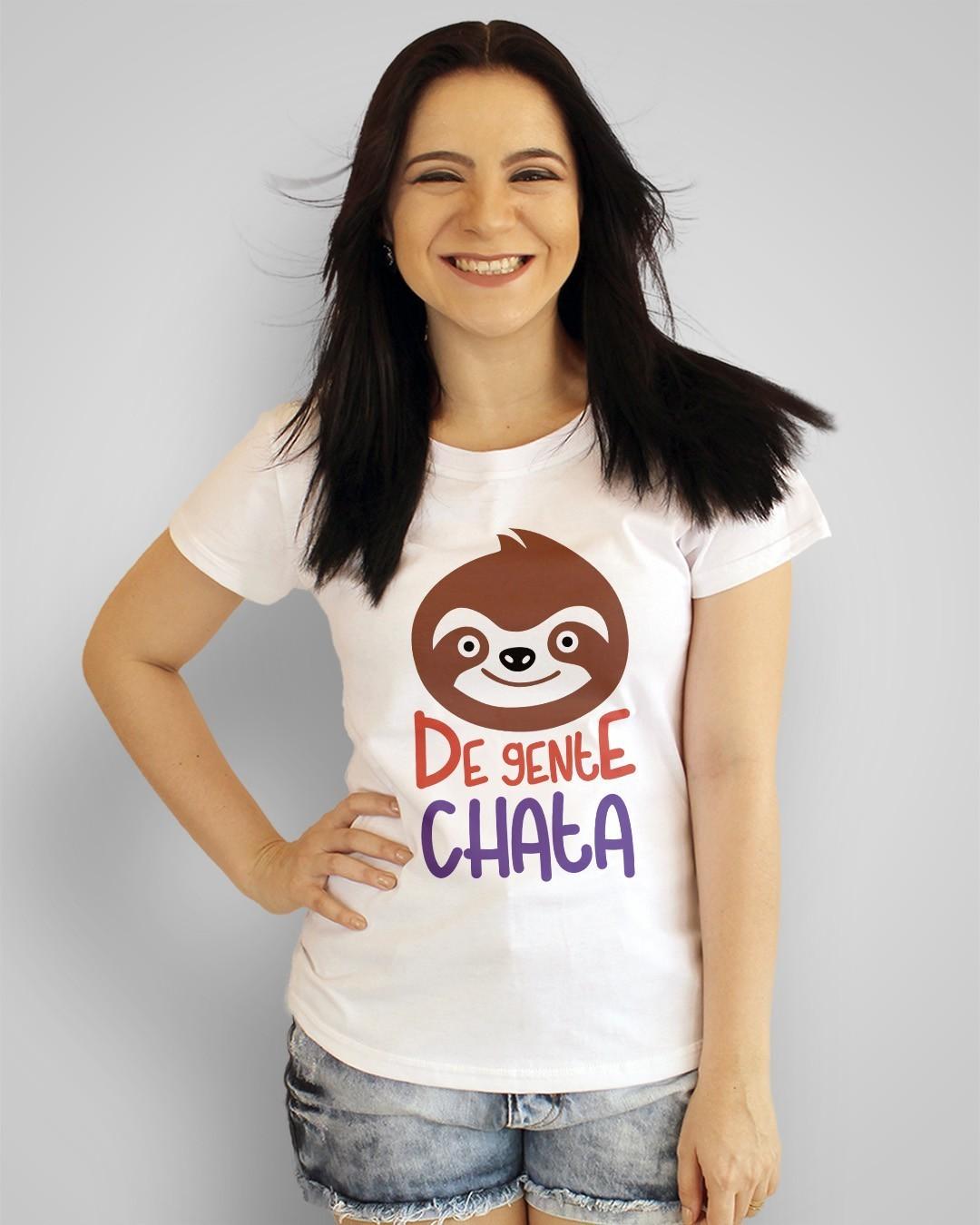 Camiseta Preguiça de gente chata