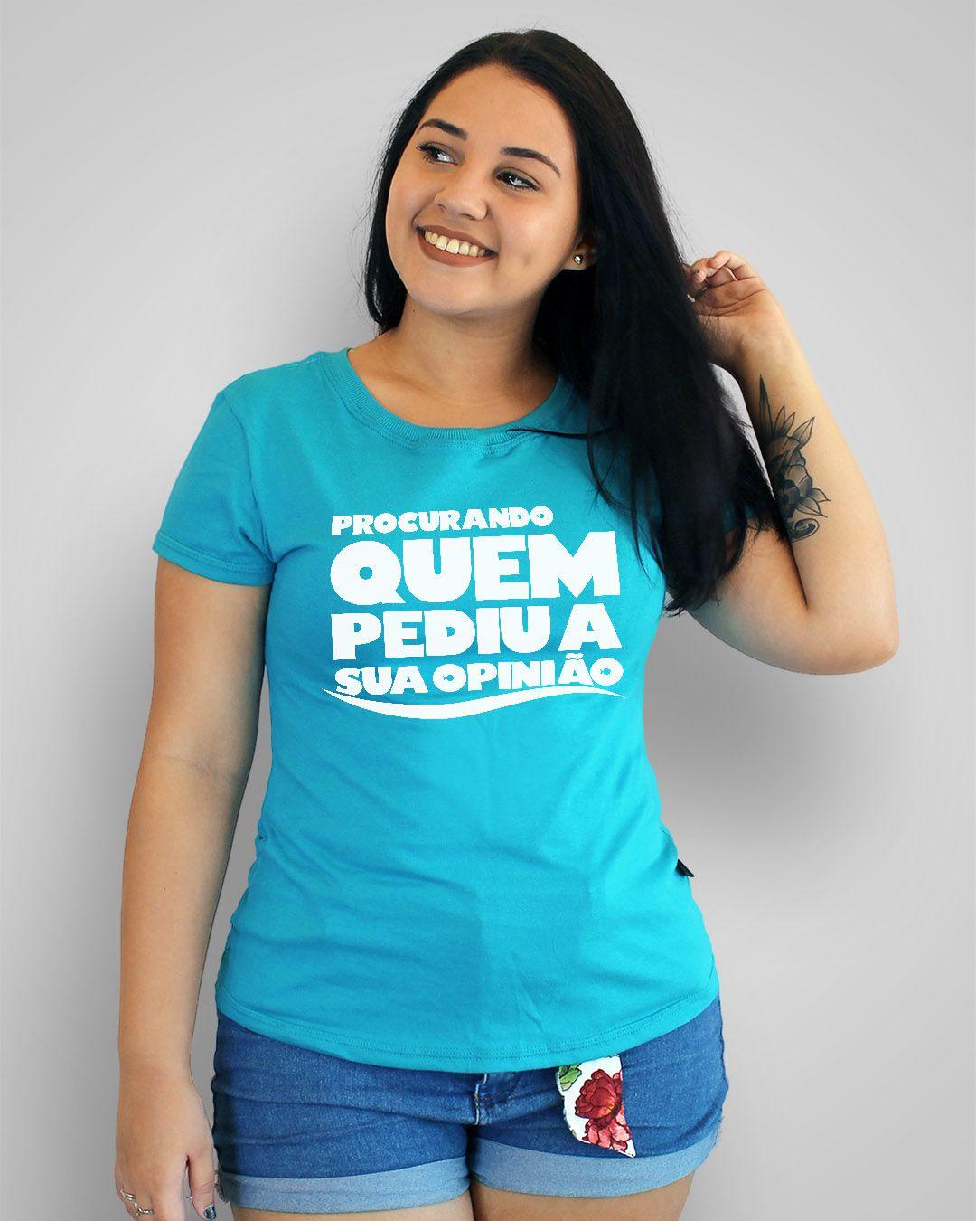 Camiseta Procurando quem pediu a sua opinião