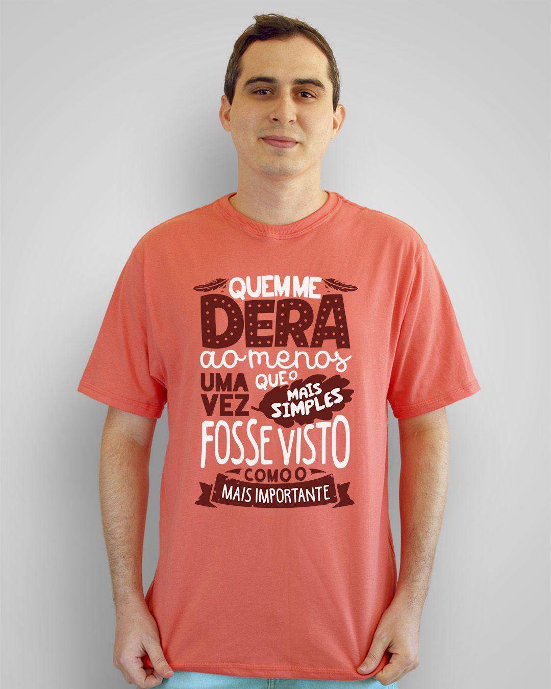 Camiseta Quem me dera ao menos uma vez... - Legião Urbana