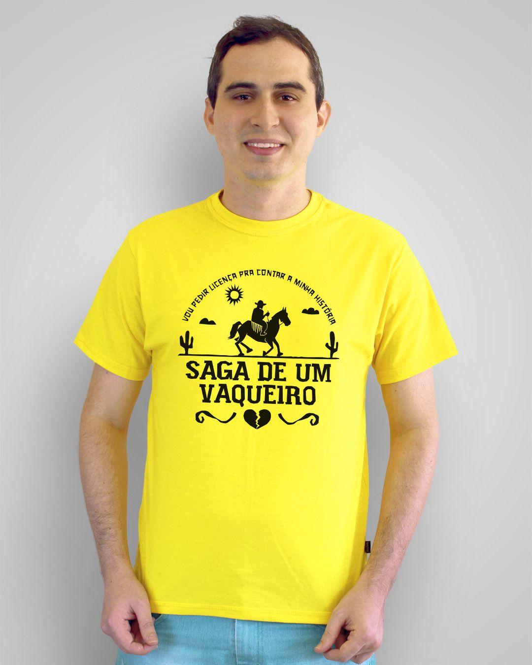 Camiseta Saga de um vaqueiro