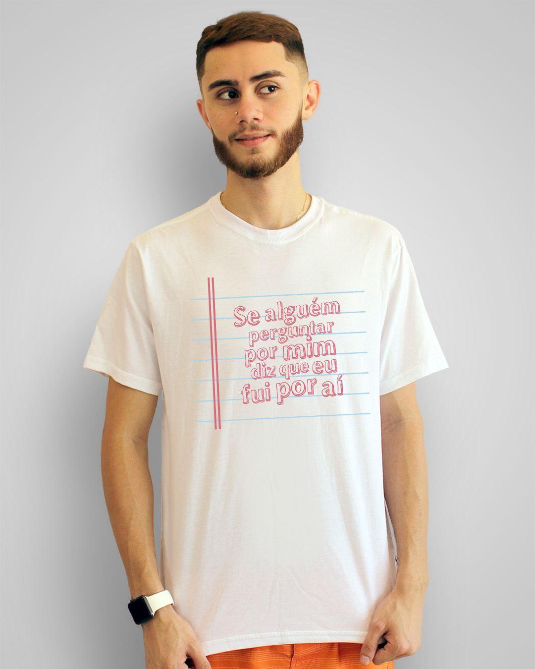 Camiseta Se alguém perguntar por mim, diz que eu fui por aí - Luiz Melodia
