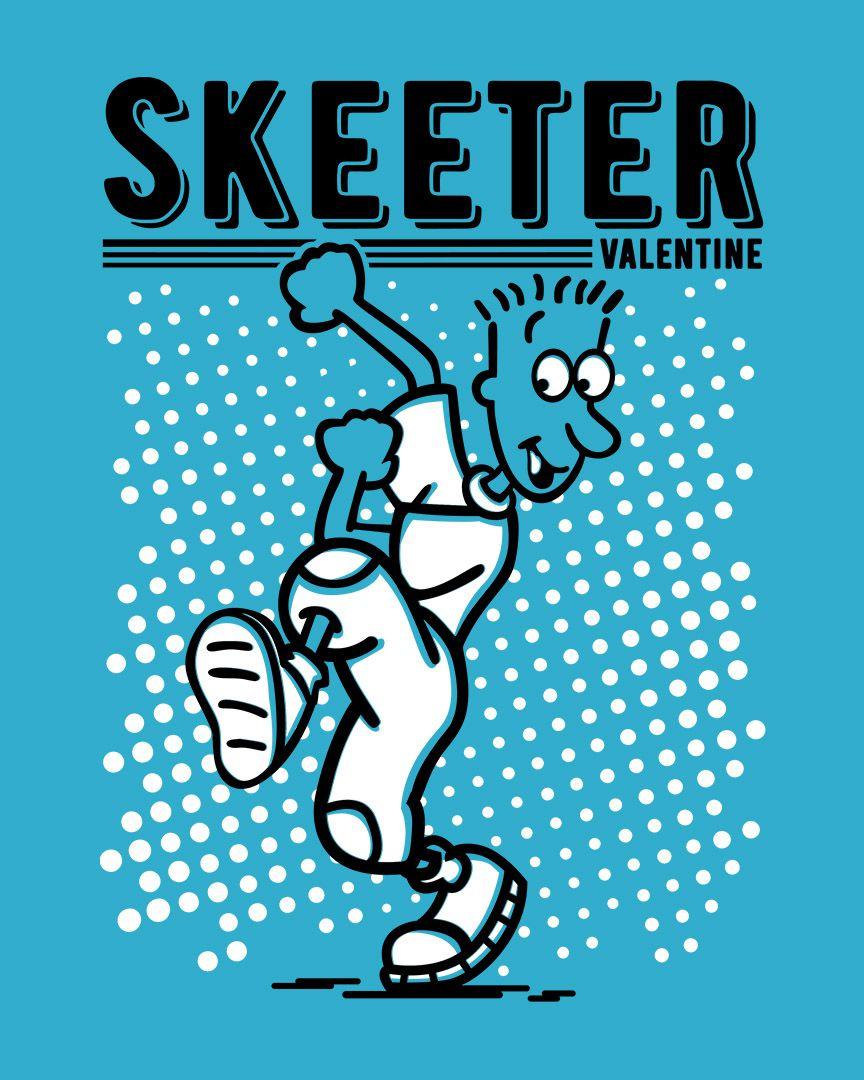Camiseta Skeeter Valentine - Doug