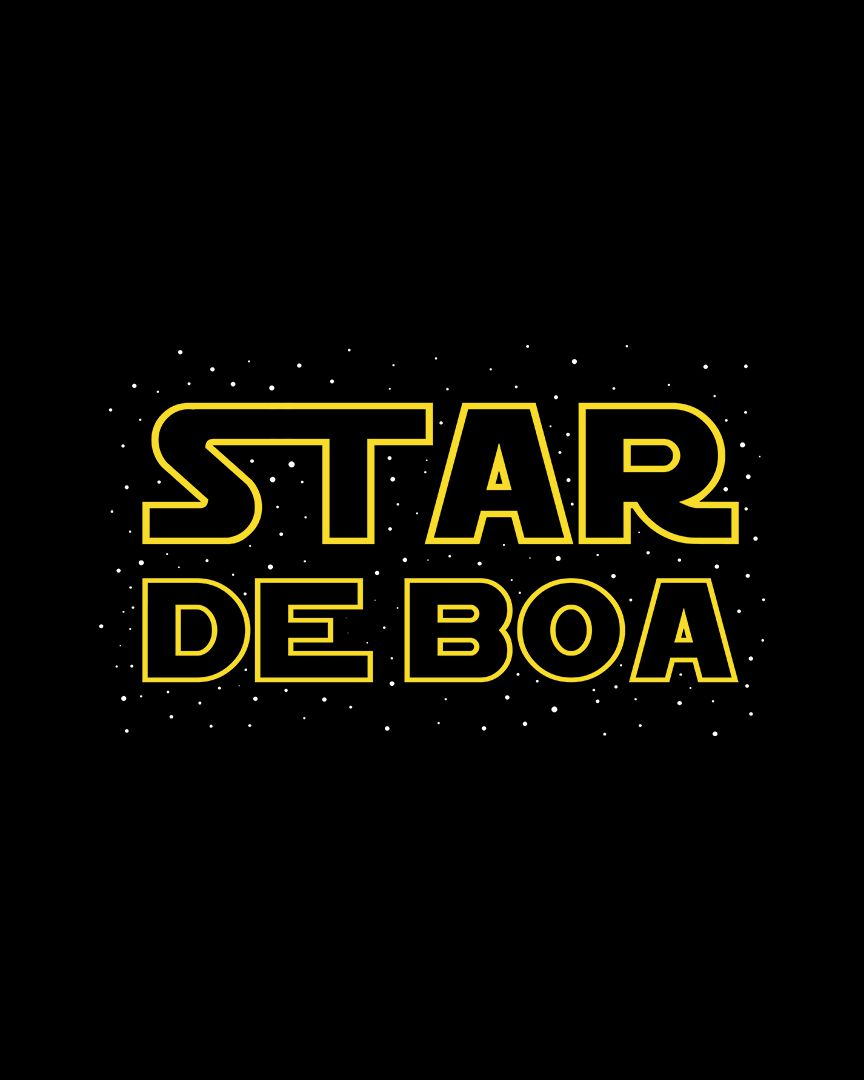 Camiseta Star de boa - Star Wars