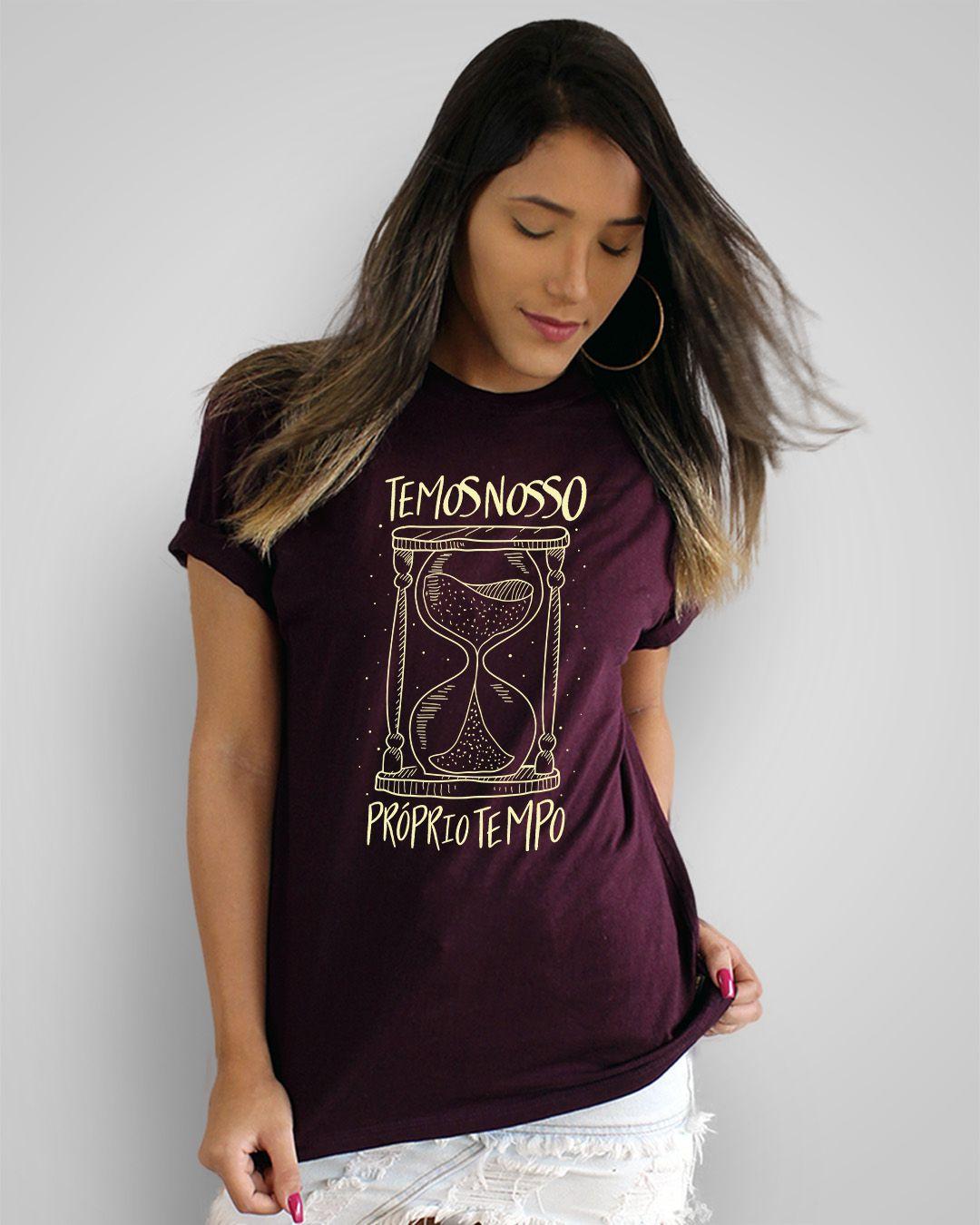 Camiseta Temos nosso próprio tempo - Legião Urbana