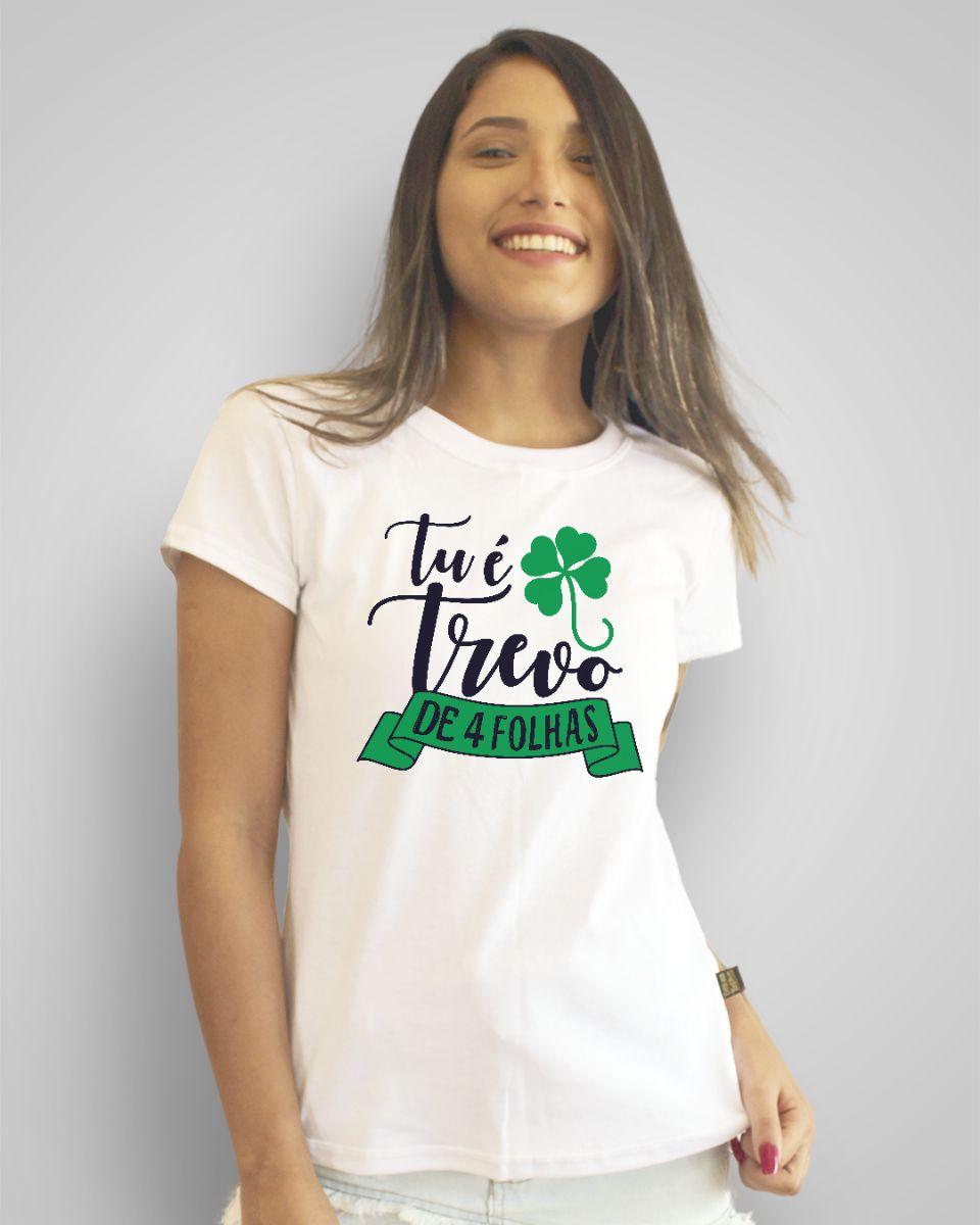Camiseta Tu é trevo de quatro folhas - Anavitória ft. Tiago Iorc