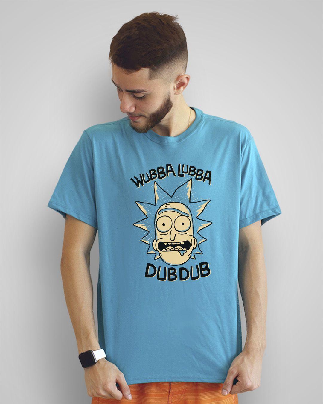 Camiseta Wubba lubba dub dub - Rick and Morty