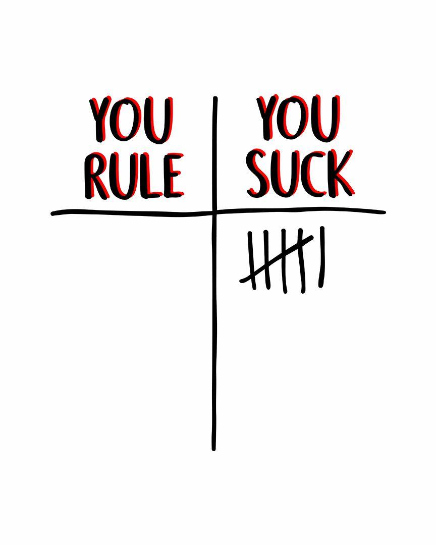 Camiseta You Rule   You Suck - Stranger Things