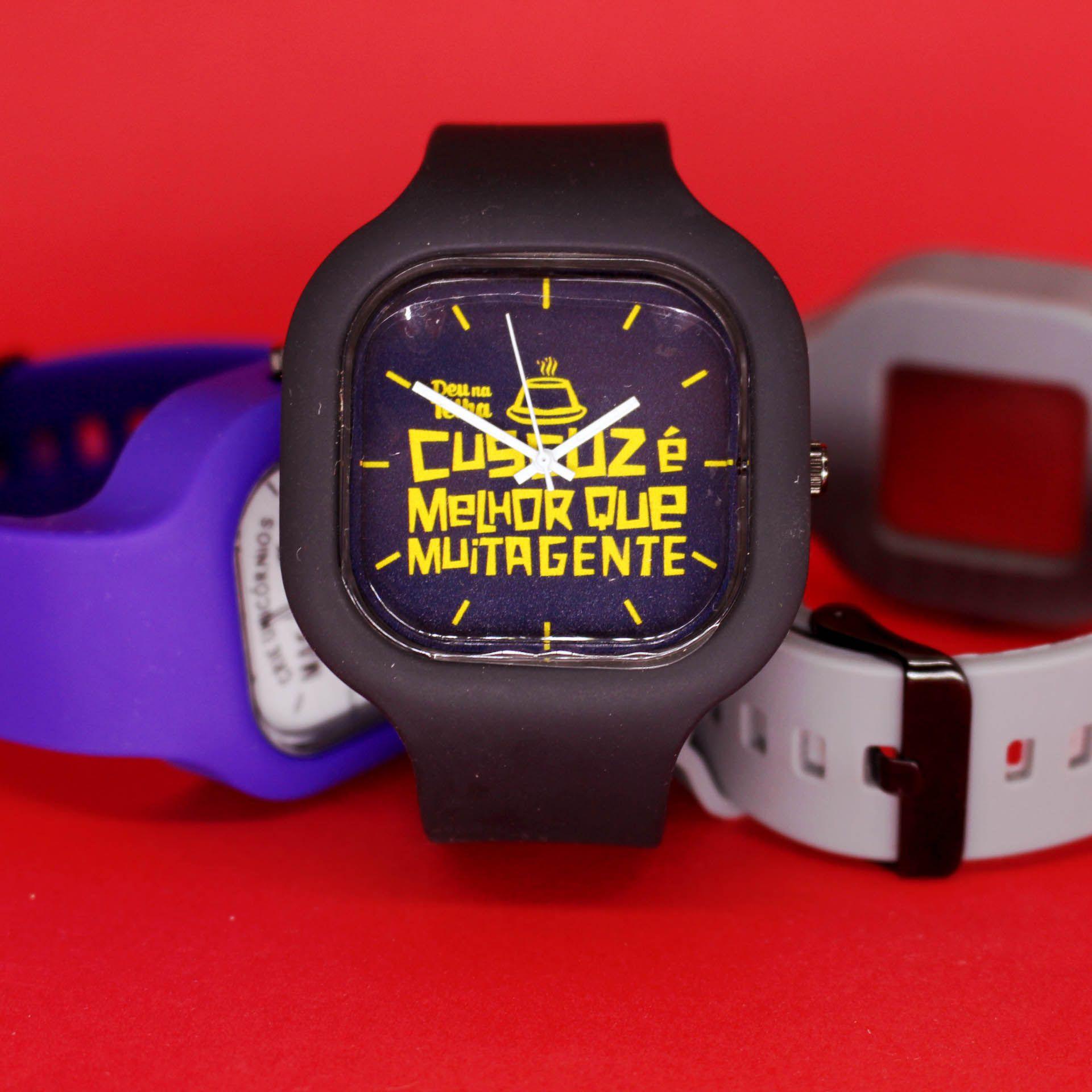 Relógio Cuscuz é melhor que muita gente