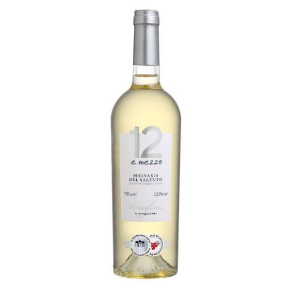 12 E Mezzo Branco Del Salento - IGP 750ml