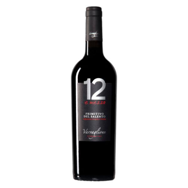 12 E Mezzo Primitivo Del Salento - IGP 750ml