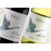 Kit Vinho Chileno Yali Wild Swan Cabernet/Chardonnay 375ml