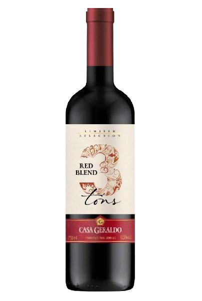 3Tons Red Blend Cabernet/Merlot/Tannat 750ml