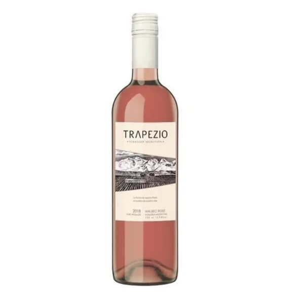 Trapezio Vineyard Selection Malbec Rose 750ml