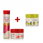 Kit Magic Red + Máscara Reparação Intensiva