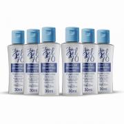 Shine Gel 70 - Álcool Gel Antisséptico - Kit com 6 unidades
