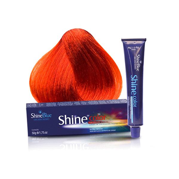 Coloração Shine Blue 0.4 Cobre Intensificador