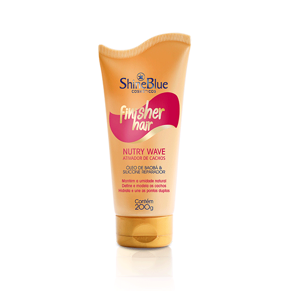 Finalizador Finisher Hair Cachos Nutry Wave
