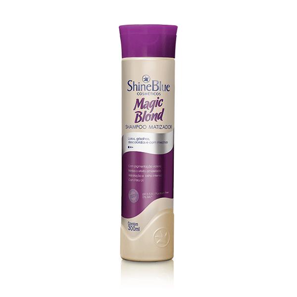 Magic Blond Shampoo Matizador