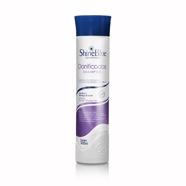 Shampoo Shine Blue Danificados