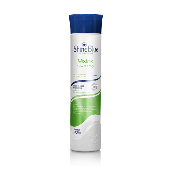 Shampoo Shine Blue Mistos