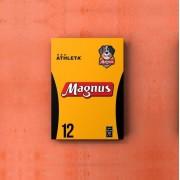 Placa Decorativa A4 - Uniforme Titular do Magnus Futsal #12