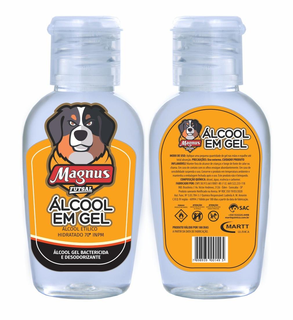 Álcool em Gel de bolso 30ml