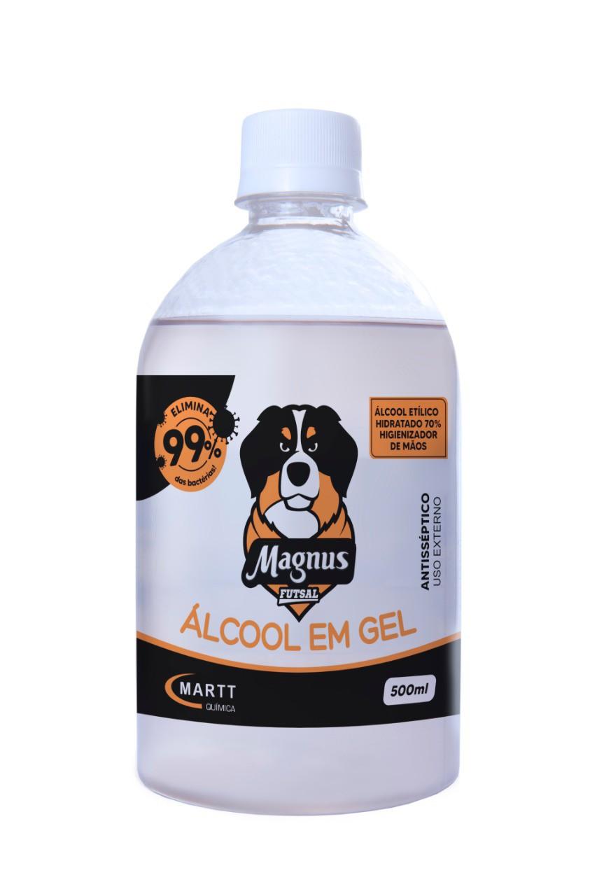 Álcool em Gel de frasco 500ml