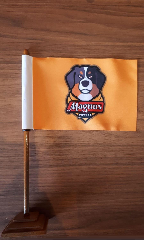 Bandeirinha de Mesa do Magnus Futsal
