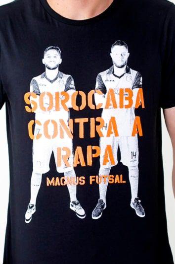 """Camiseta Carques - Leandro Lino e Rodrigo """"Capita"""""""