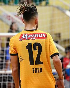 Camiseta Oficial - Fred #12