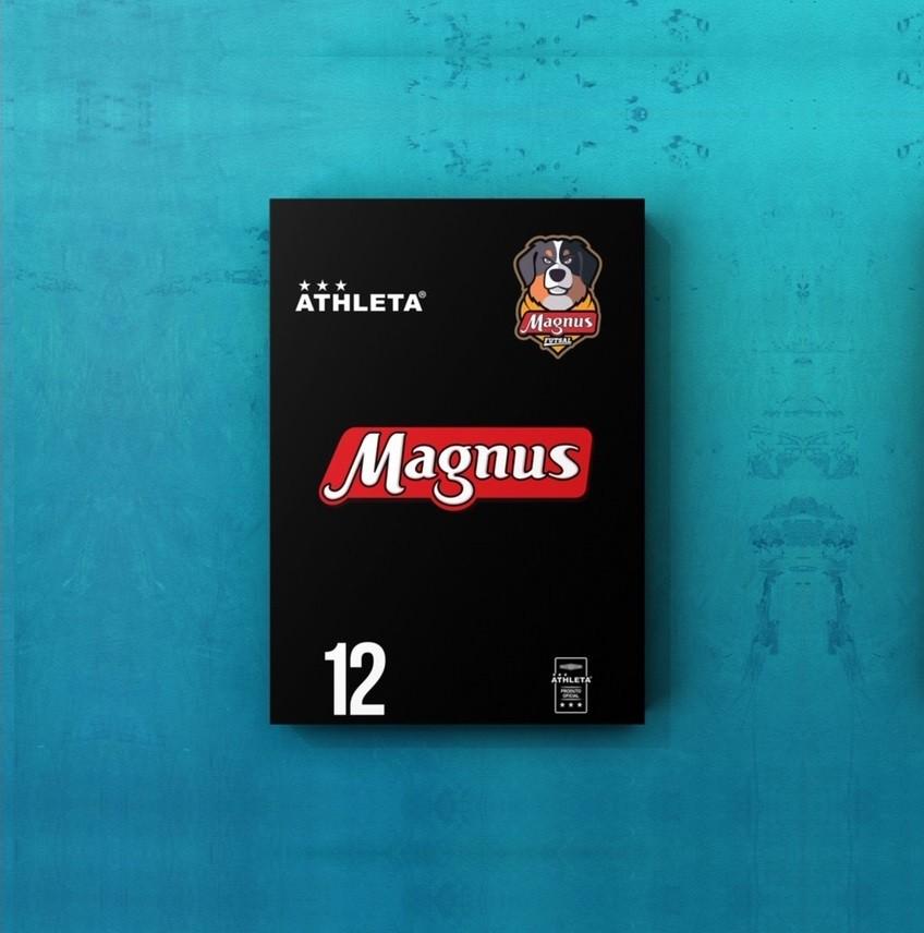 Placa Decorativa A4 - Uniforme Reserva do Magnus Futsal #12