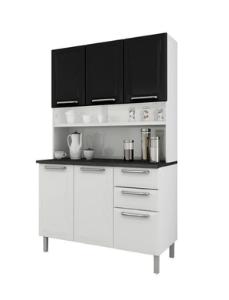 Kit de Cozinha Itatiaia Regina I3G2-120 Aço c/ 6 Portas e 2 Gavetas