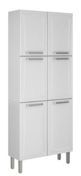 Paneleiro Duplo Cozinhas Itatiaia Premium - 6 Portas - IPLD-80