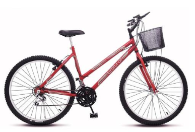 Bicicleta Aro 26 Allegra City Feminina