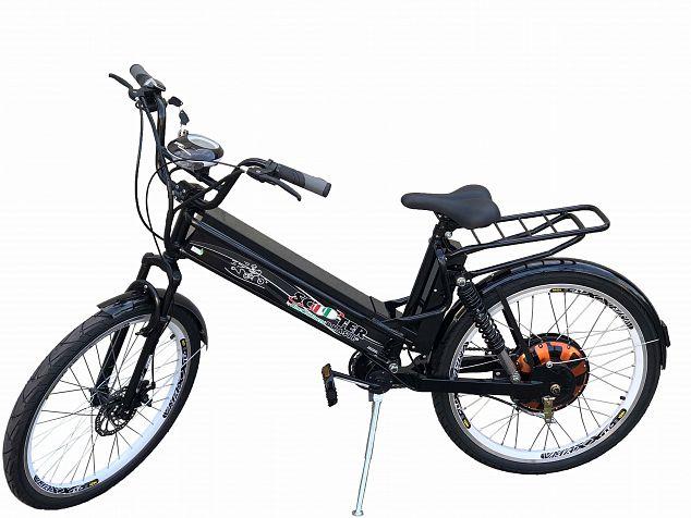 Bicicleta Elétrica Daytona 800w 48v Preta