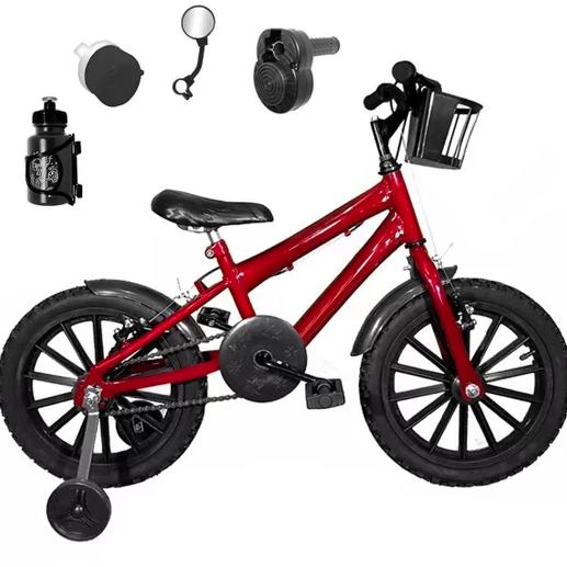 Bicicleta Infantil Aro 16 Nylon Feminina Bicolor