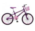 Bicicleta Aro 20 Max July Feminina