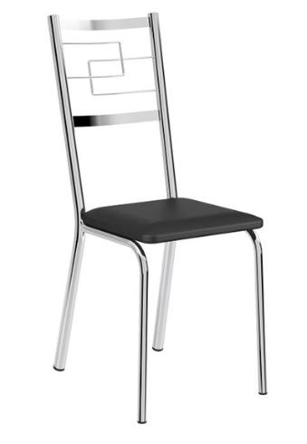 Cadeira de Aço Carbono Cromado