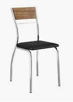 Cadeira de Aço Cromado