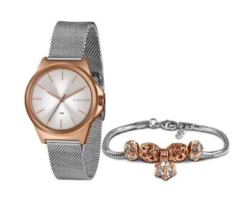Kit Relógio Lince com Pulseira