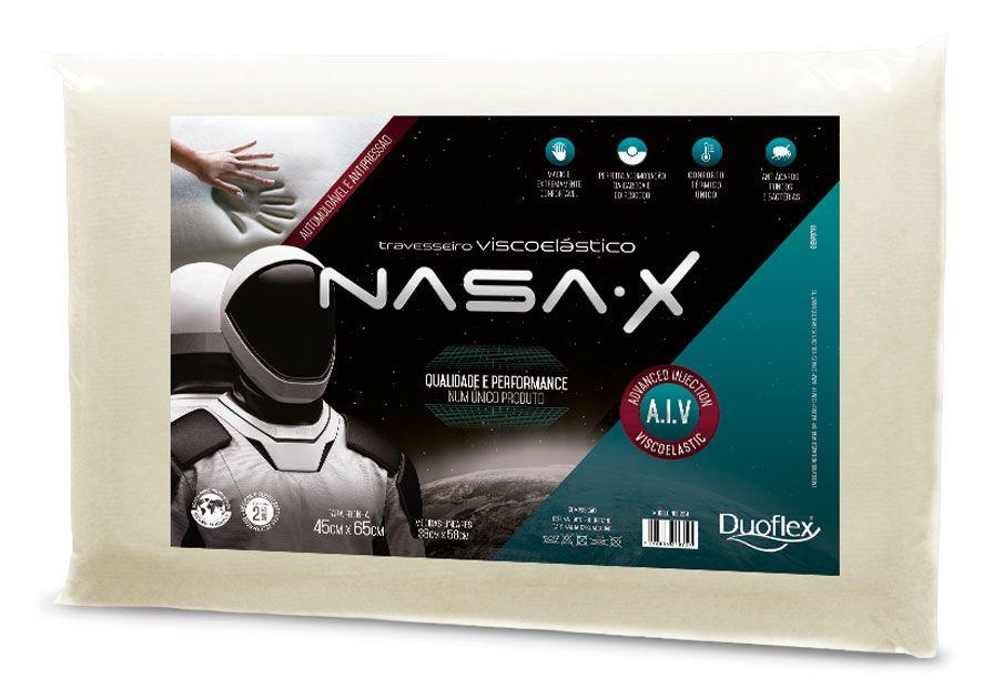 Travesseiro Nasa- X Duoflex