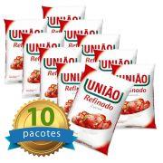 Açúcar União Fardo com 10 pacotes de 1Kg cada