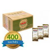 Açúcar União Sachê caixa com 400 unidades