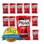 Café Pilão Almofada fardo com 10 pacotes de 500g