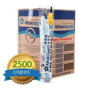 Copo Descartável Altacoppo Branco 180ml c/2500 unidades