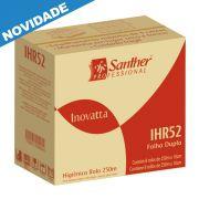 Papel Higiênico Folha DUPLA 8 rolos de 250 metros cada - Santher IHR25