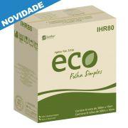 Papel Higiênico ECO Folha Simples 8 rolos de 300 metros - Santher IHR08