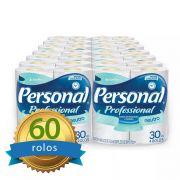 Papel Higiênico Personal Folha Simples Fardo c/60 Rolos Santher